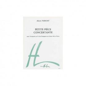 PETITE PIECE CONCERTANTE pour Trompette en Ut d'Alain PARENT