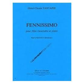 FENNISSIMO pour flûte traversière et piano de Henri Claude FANTAPIE