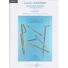 24 Petites Etudes pour la flûte de Joachim ANDERSEN