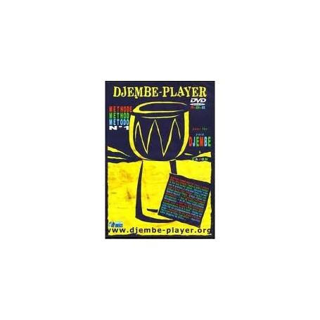 DJEMBE-PLAYER DVD Méthode n°1