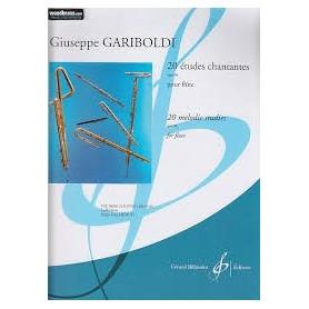 VINGT ETUDES CHANTANTES pour FLÛTE de G.GARIBOLDI