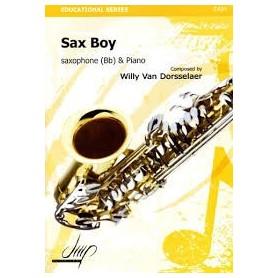 Sax Boy de Willy Van Dorsselear