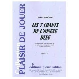 LES 7 CHANTS DE L' OISEAU BLEU de Luiza CALOÏANU