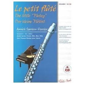 LE PETIT FLÛTE vol 1 avec CD Annick Sarrien-Perrier