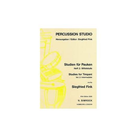 SOLOBUCH FÛR PAUKEN de Siegfried Fink Vol II