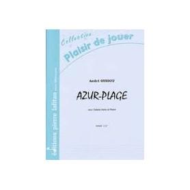 AZUR-PLAGE de André GUIGOU pour Caisse Claire et Piano.