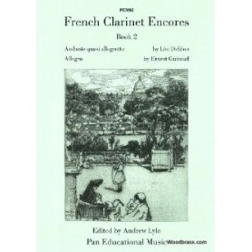 FRENCH CLARINETTE ENCORES BOOK 2