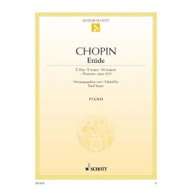 ETÜDE de CHOPIN pour piano