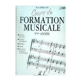 COURS DE FORMATION MUSICALE 5EME ANNEE