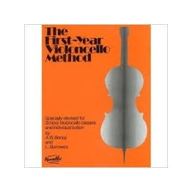 THE FIRST YEAR VIOLONCELLE METHOD de A. W. Benoy et L. Burrowes