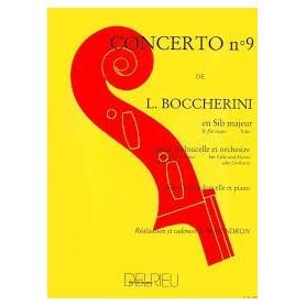 CONCERTO N°9 de L. BOCCHERINI pour Violoncelle