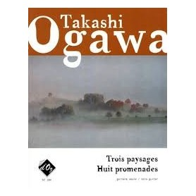 Trois paysages Huit promenadesde Takashi OGAWA