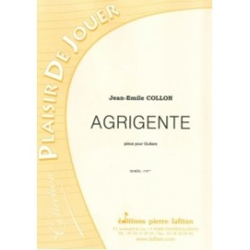 AGRIGENTE de Jean-Emile COLLON