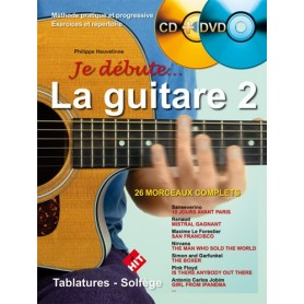 Je débute la guitare 2 + CD ET DVD