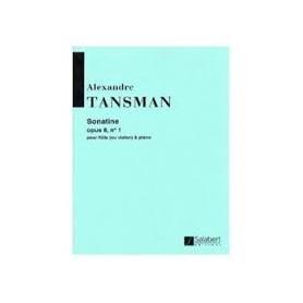 SONATINE d'Alexandre TANSMAN