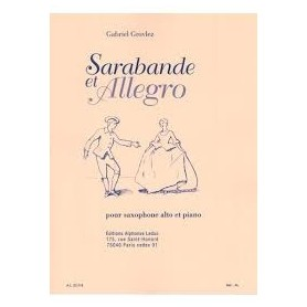 Sarabande et Allegro de Gabriel GROVLEZ