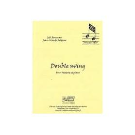 Double Swing pour Batterie et Piano de Joel Rousseau et Jean Claude Soldano