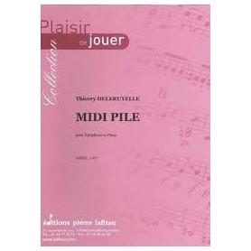 Midi Pile pour Xylophone et Piano de Thierry DELERUYELLE