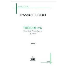 PRELUDE N°6 de Frédéric CHOPIN