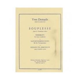 SOUPLESSE pour Trombone ténor de Yves DELMARLE