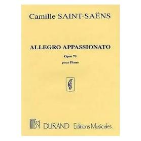 ALLEGTRO APPASSIONATO Opus 70 de Camille St SAENS pour piano