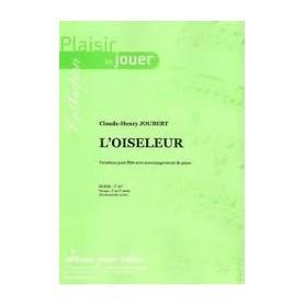L'OISELEUR de Claude-Henry JOUBERT pour Flûte et Piano